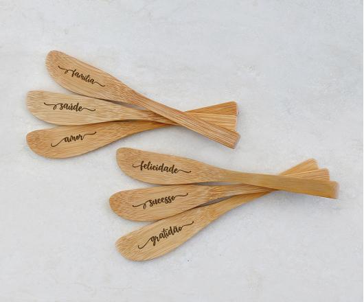 Espátulas de Bambu 19