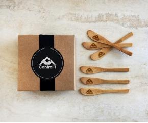Espátulas de Bambu Personalizadas