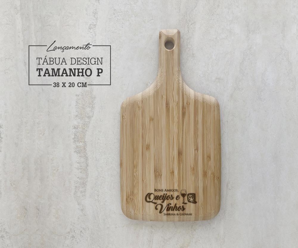 Tábua de Bambu Design Personalizada 03