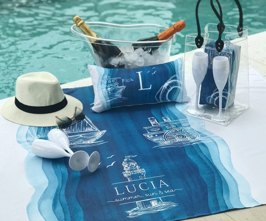 Kit Summer Personalizado Oceano com Ice Bag