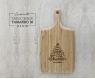 Tábua de Bambu Design M - 46x24,5 cm Personalizada Desejos