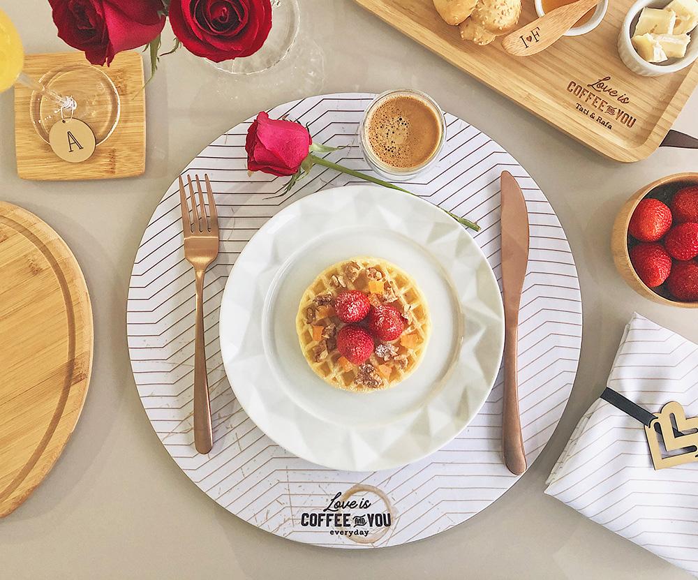 Kit Café da Manhã Personalizado