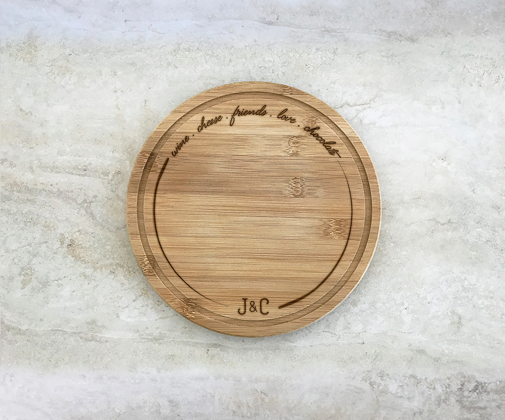 Tábua para Queijos 21 cm Personalizada 21