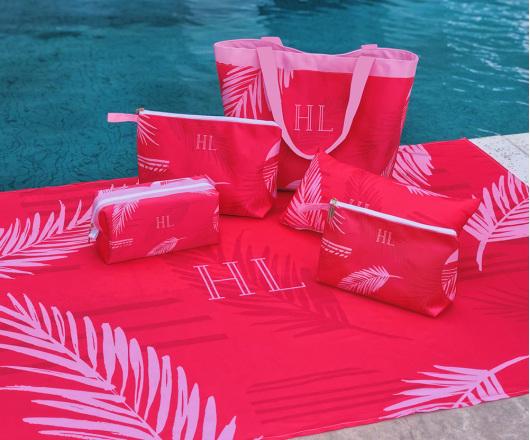 Kit Summer Master Palm Vermelho