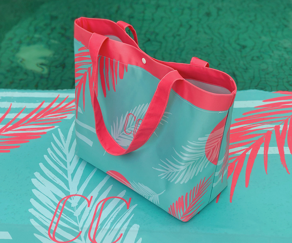 Bolsa Personalizada Palm Tiffany