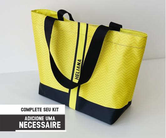 Bolsa Personalizada Neon Amarela
