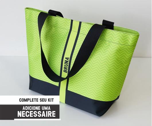 Bolsa Personalizada Neon Verde