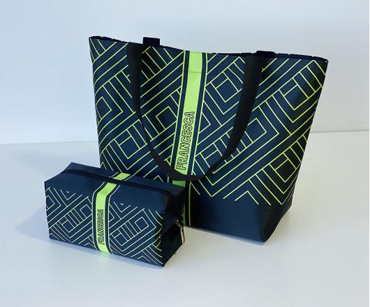 Kit Academia Personalizado Neon Verde