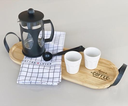 Kit Café com Prensa Francesa