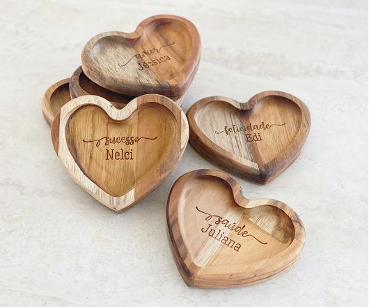 Conjunto Mini Coração Desejos