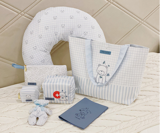 Kit Maternidade Completo Azul