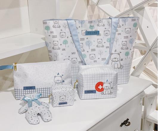 Kit Maternidade Azul Color 01