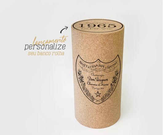 Banco Rolha Dom Pérignon Personalizado