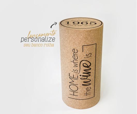 Banco Rolha Wine Personalizado