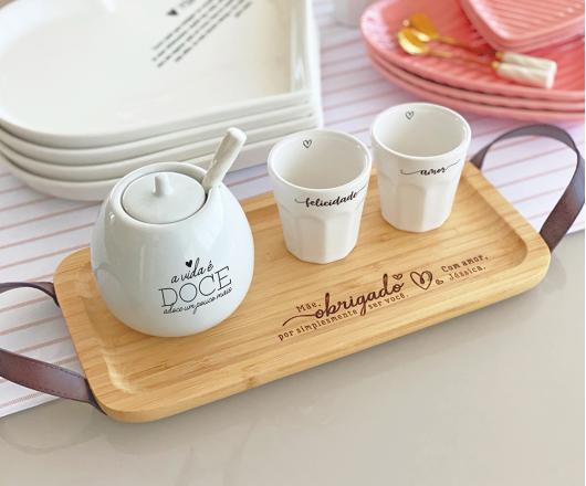 Kit Café com Açucareiro