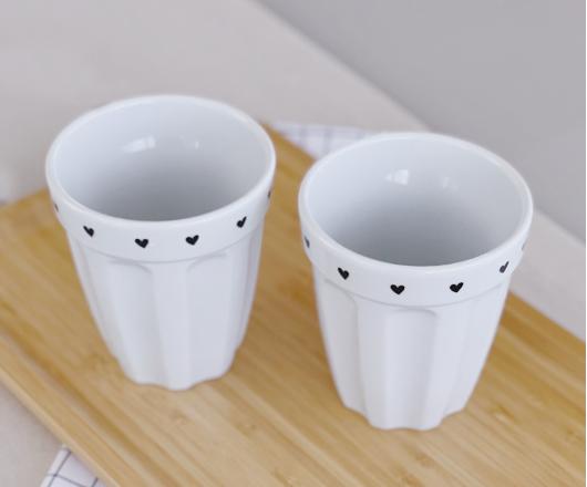 Dupla de Copos de Cerâmica 300 ml