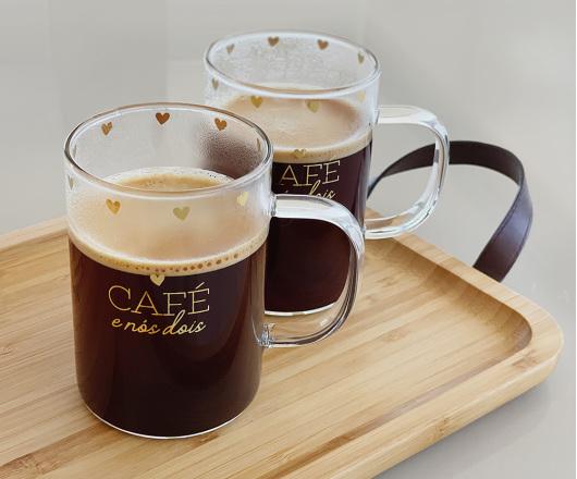 Dupla de Canecas Café e Nós Dois