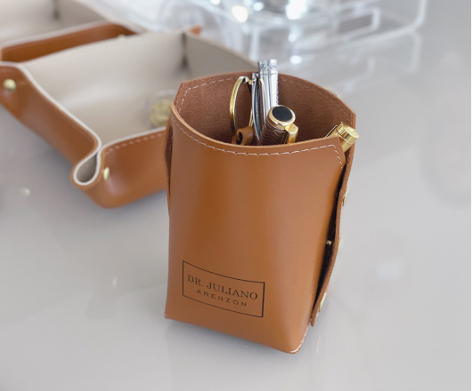 Porta Lápis Caramelo Personalizado