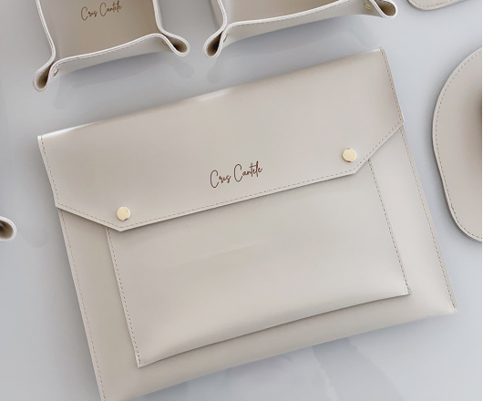 Pasta Envelope Bege Personalizada