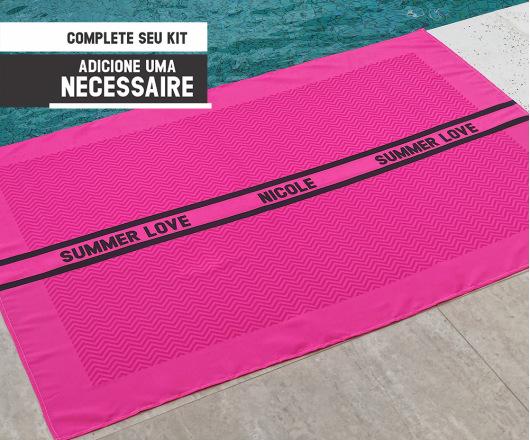 Canga Personalizada Neon Pink