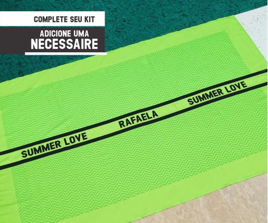 Canga Personalizada Neon Verde